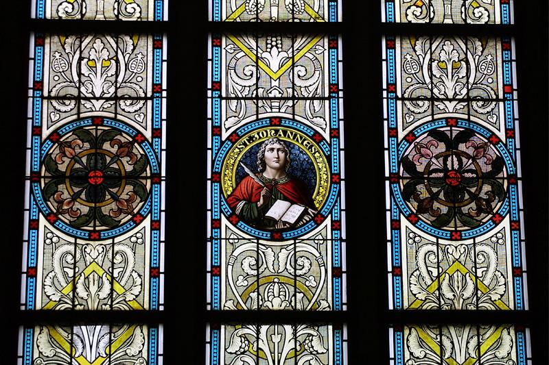 Bleiglasfenster Kirche Hartha