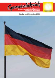 Gemeindebrief 4 - 2015