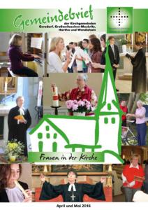 Gemeindebrief 2 - 2016