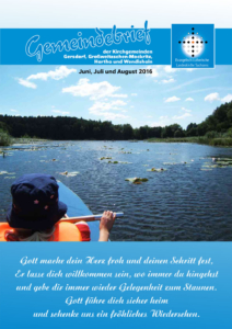 Gemeindebrief 3 - 2016