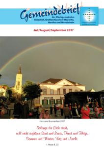Gemeindebrief 3 - 2017