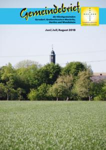 Gemeindebrief 3 - 2018