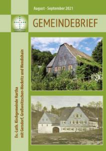 Gemeindebrief 4 - 2021 August und September